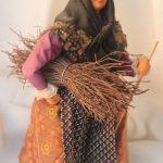 santon provence femme aus fagots